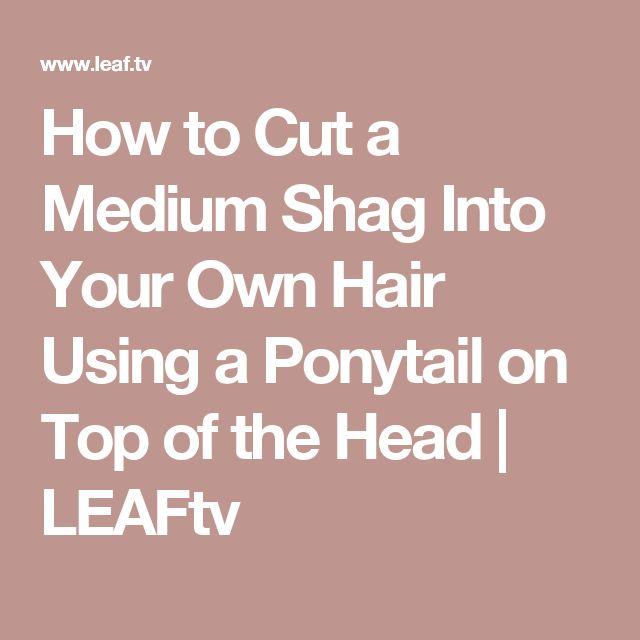 ... Cut Your Own Hair on Pinterest Hair in layers, Hair and Diy haircut