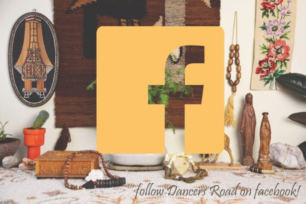 Follow the journey of Dancers Road, young label for colourful vintage and handmade lifestyle accessories on Facebook!