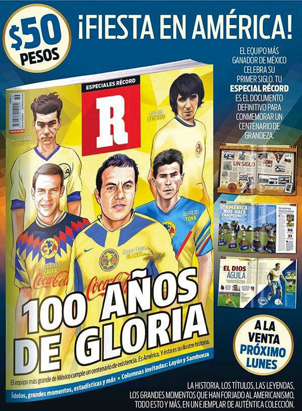 Ilustraciones revista '100 años del equipo América' on Behance