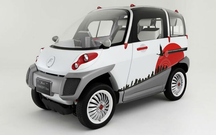 Fomm Concept One elettrica ed anfibia!