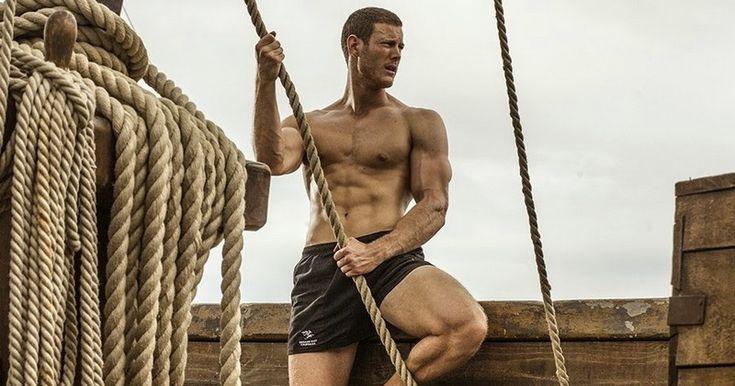 Tom Hopper's hot body