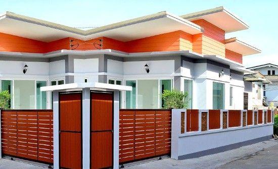 25 desain inspiratif rumah atap miring ke belakang 1 ...