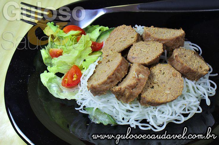 Receita de Salsichão de Carne Moída