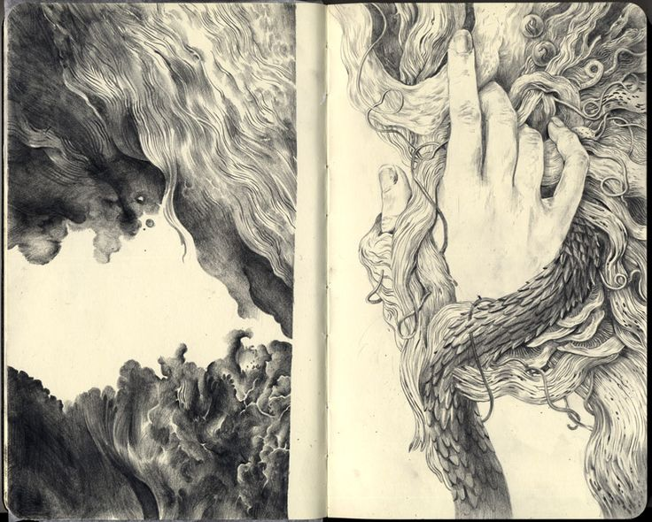 sketchbook page 2 by melora.deviantart.com on @deviantART
