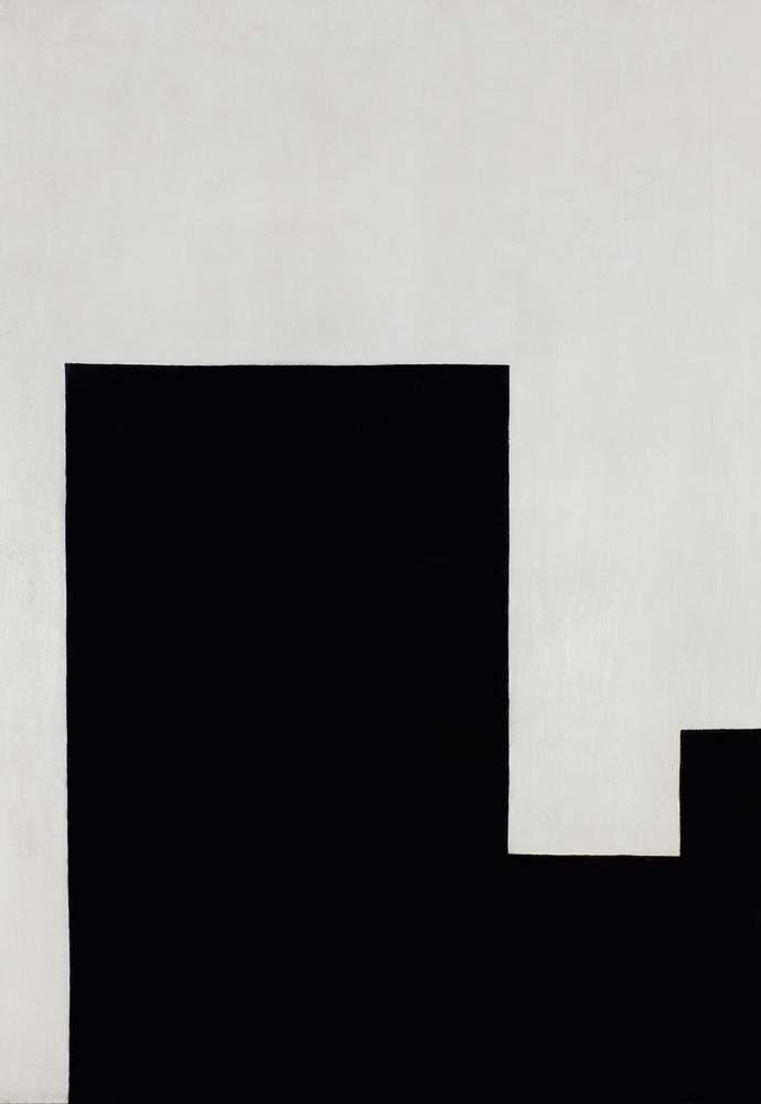 Wladyslaw Strzeminski | Kompozycja architektoniczna (1) (Architectonic composition [1]). 1926 Tak. Bardzo. Głębokie.