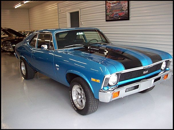 If I were to ever get a classic muscle car it would be this, '72 Chevy Nova. Cruising around the lake shore of Michigan.