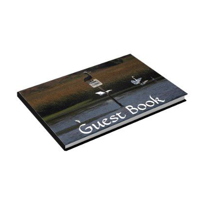 Brown Pelican Bird Wetlands Wildlife Guest Book - diy cyo personalize design idea new special custom