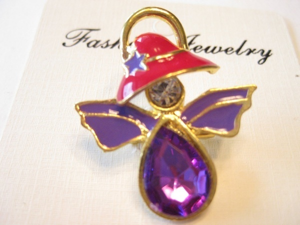 Angel Pin///Great Gift! Red Hat Ladies Society!!
