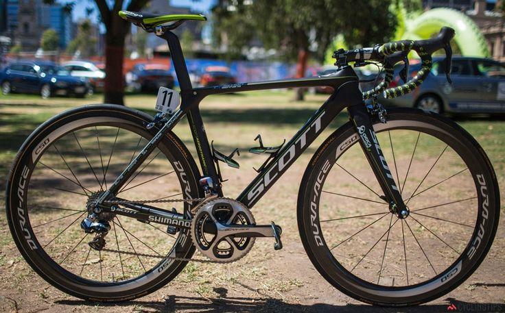 Team Orica-GreenEDGE's Scott Foil, Tour Down Under - 2014