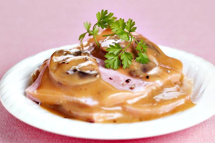 La recette du Jambon au porto Thermomix. Une recette délicieuse et rapide à préparer, parfaite pour le dîner. A préparer en mode pas à pas comme sur le TM5