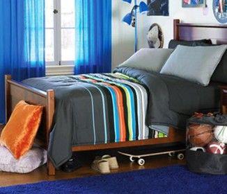 cool teen boy beds teen bedding for boys teen bedding world - Boy Bed Frames