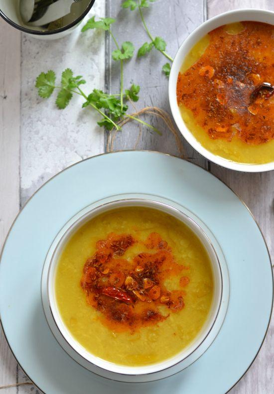 Andhra style raw mango dal | kache aam ki dal | The Veggie Indian