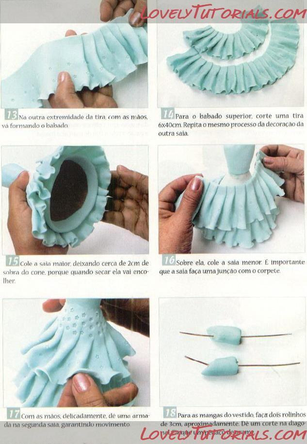 фея сидя-How to Make a sitting Fondant Fairy - Мастер-классы по украшению тортов Cake Decorating Tutorials (How To's) Tortas Paso a Paso