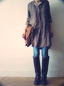 L'Ecume des Jours septembre 1 Hooray!!! I have the shirt, jeans, bootsand the bag for this look!