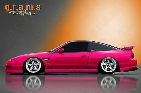 Rear Diffuser Undertray For Nissan 180sx S13 Ps13 Racing Performance Body Kit V6 Nissan 180sx Nissan Body Kit