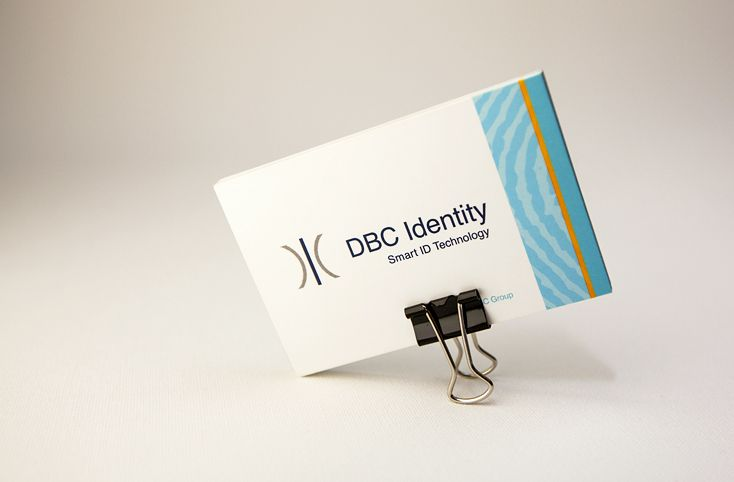 Business card designed for DBC Identity www.akgraphics.ie
