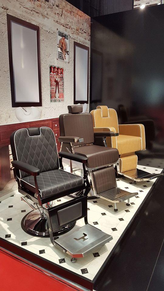 Ayala furniture stand at TOP HAIR 2016 fair in Dusseldorf-  Germany. #Salonideas #Salondesign