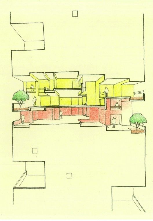 Kanchanjunga Apartments / Charles Correa Associates