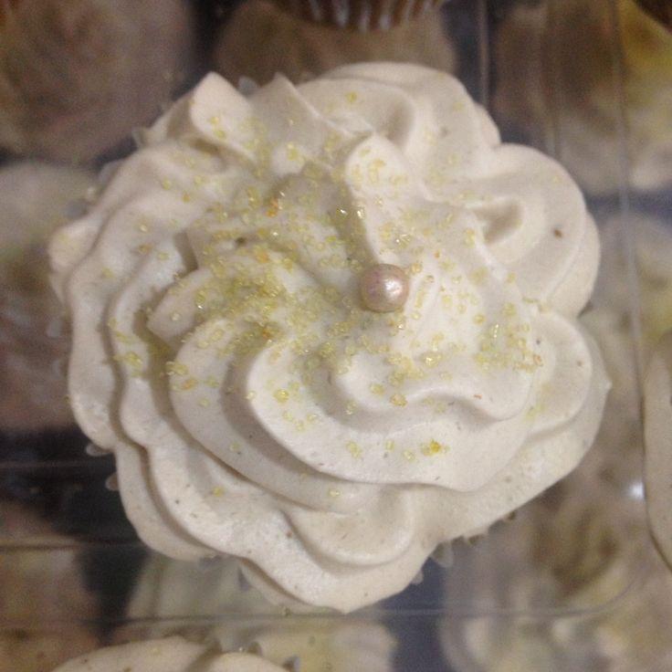 #cupcake de calabaza en tacha con crema de piloncillo #midulcemomento #pumpkin #sweet