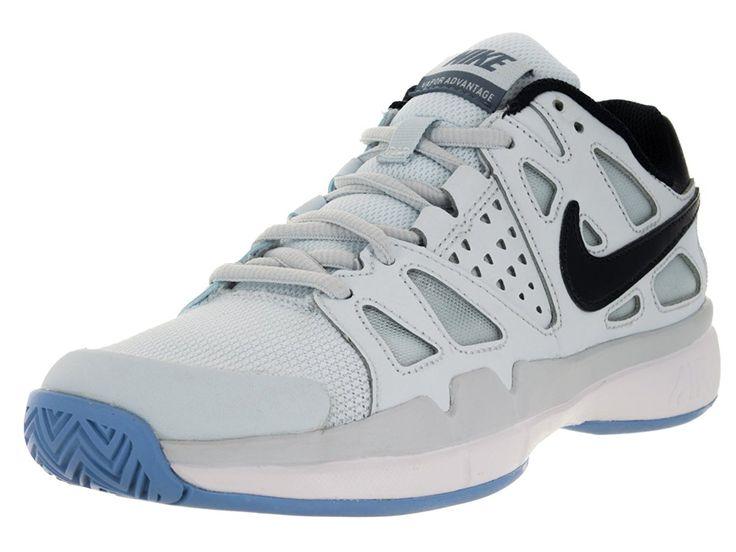 Nike Women's Air Vapor Advantage Tennis Trainer, Blue Tint/Obsidian-Chalk Blue