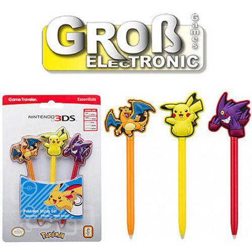 Bigben Nintendo Universal Stylus Stift Pokemon 2DS 3DS XL New farbig Pokeball  | eBay
