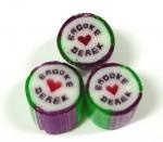 Personalised wedding candy - a must for your candy bar or bonbonniere.