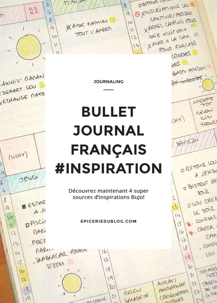 4 super sources d'inspiration pour votre #bulletjournal / #Bujo!