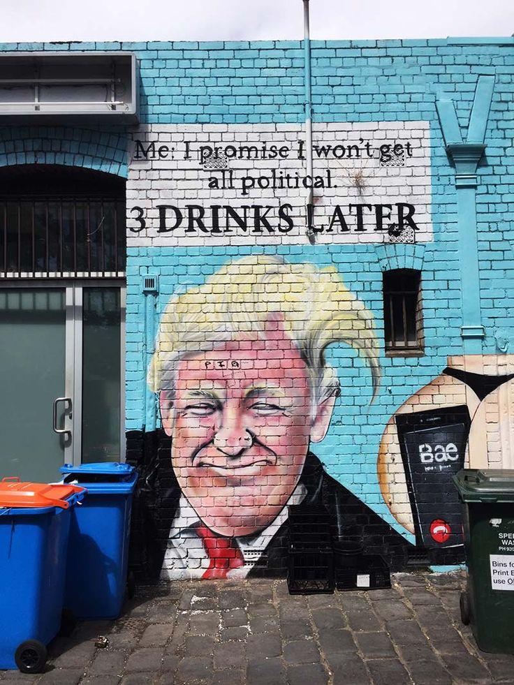 Street Art on Chapel Street Windsor