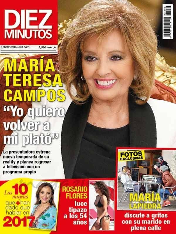 El Kiosko Rosa… 27 de diciembre de 2017: revista diez minutos