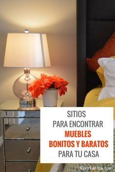 Muebles bonitos y baratos para tu casa. Sitios donde puedes encontrar cosas de buena calidad con mucho estilo y sin necesidad de pagar mucho dinero. Sitios web favoritos para comprar muebles.