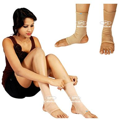 Elastic Tubular Anklet: GPC Medical Ltd. - Exporter & Manufacturers of Elastic tubular anklet, tubular anklet, ankle support from India. Visit us online for more products http://www.orthopaedic-implants.net/elastic_tubular_anklet_india.html