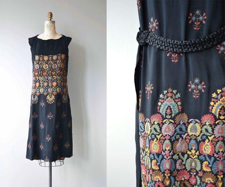 Tatjana Abito ricamato  abito vintage anni 1920  abito di