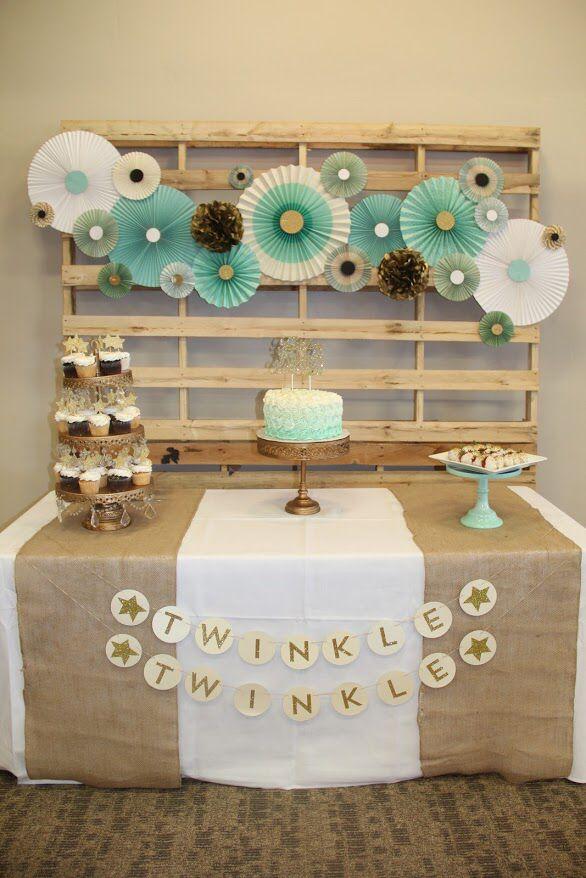 Twinkle, Twinkle, Little Star theme baby shower