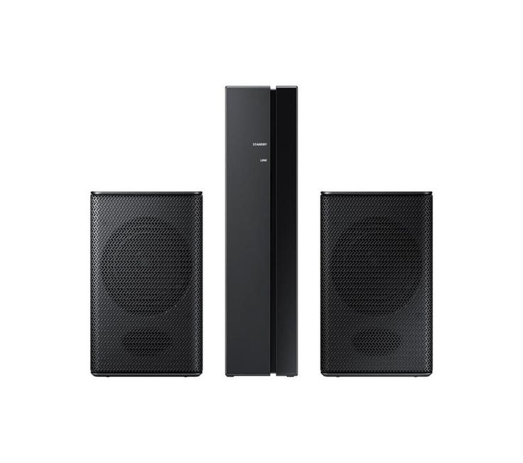 SAMSUNG  SWA-8000S Rear Speaker Kit Price: £ 99.00 Top features: - Wireless connectivity means that you don't have to run wires across the room - Enhance your surround sound for an immersive audio experience Wireless connectivity The SWA-8000S creates a wireless connection with your Samsung sound bar, allowing you to enjoy home audio through rear speakers as well as the sound bar. With a...