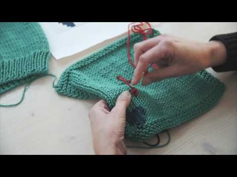 Tutorial: Mazen op breiwerk - YouTube