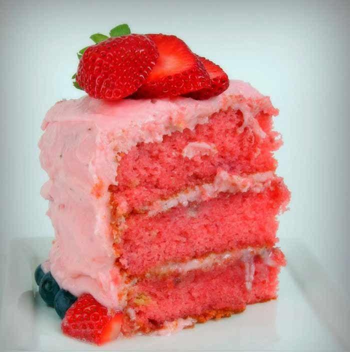 Chocolate Strawberry Easy Birthday Cake Recipe Food Network
