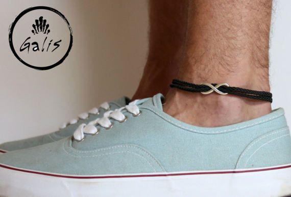 Pulsera para el tobillo hombres - regalo - joyería de playa - verano joyas de tobillo pulsera - pulsera para el tobillo para hombres - tobillo pulsera para hombres - joyas para hombres - hombres