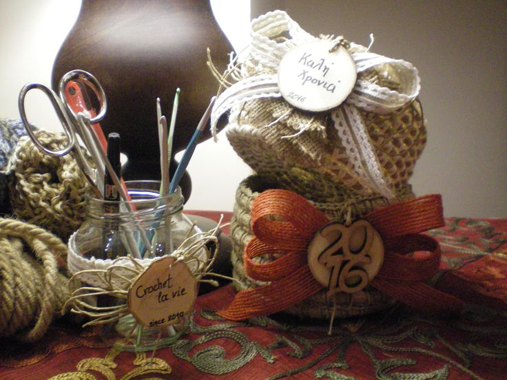 crochet basket for christmas