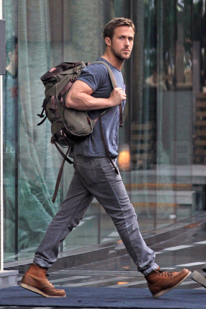 Ryan Gosling In Red Wing Boots | Men's Fashion (Spring ...