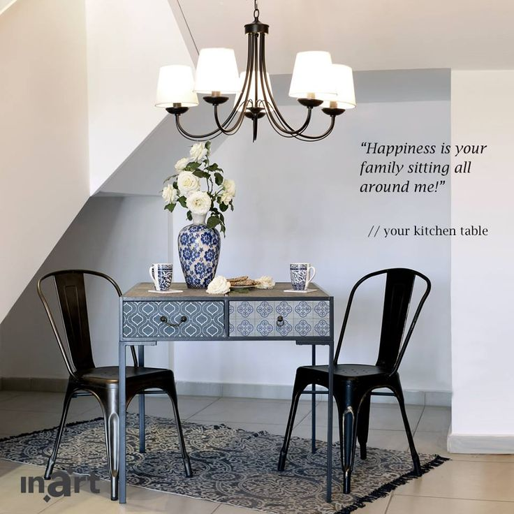 What would your kitchen table say if it could speak?  http://www.inart.com/en/furniture/dinner-tables.html #inart #inartVoice