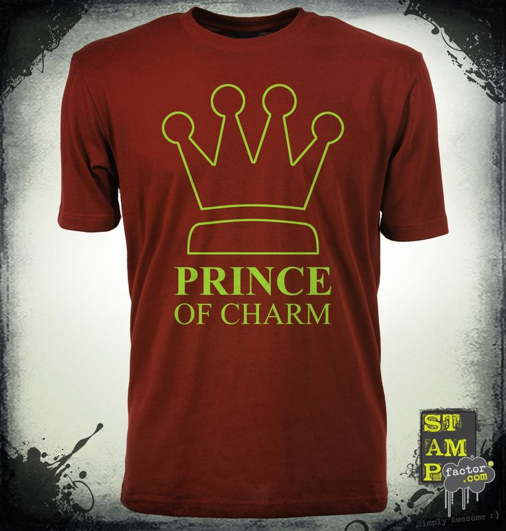 I Am The Prince (Cyber Green) 2014 Collection - © stampfactor.com *T-SHIRT PREVIEW*
