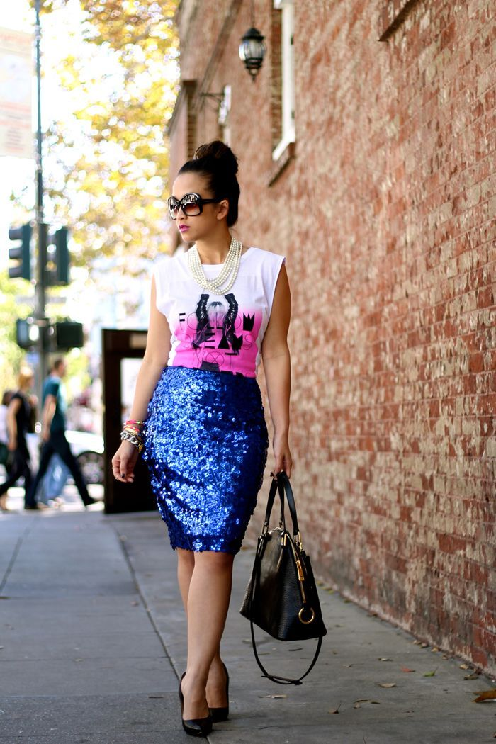 17 Best ideas about Sequin Skirt on Pinterest | Sequin skirt ...