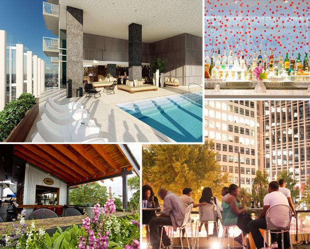 Six Rooftop Bars To Visit In Atlanta Food And Fun Pinterest Bar