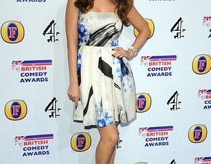 I would like to be more toned, but I am lazy, says Kelly Brook