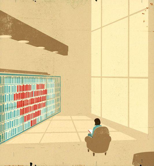 The editorial illustrations of Richard Mia via @pikaland