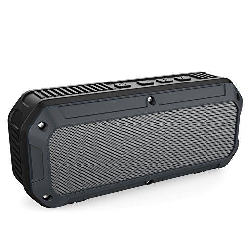 AUKEY Altavoz Bluetooth al aire libre, speaker Bluetooth 4.0 impermeable inalámbrico estéreo, - http://complementoideal.com/producto/tienda-socios/aukey-altavoz-bluetooth-al-aire-libre-speaker-bluetooth-4-0-impermeable-inalmbrico-estreo-altavoces-duales-16-horas-de-reproduccin-mic-incorporado-para-iphone-android-y-windows-smartphone-y-tablets-sk/