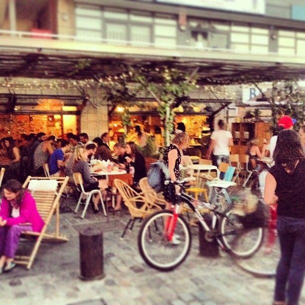 Makamaka beach burger cafe, Barcelona (Spain)
