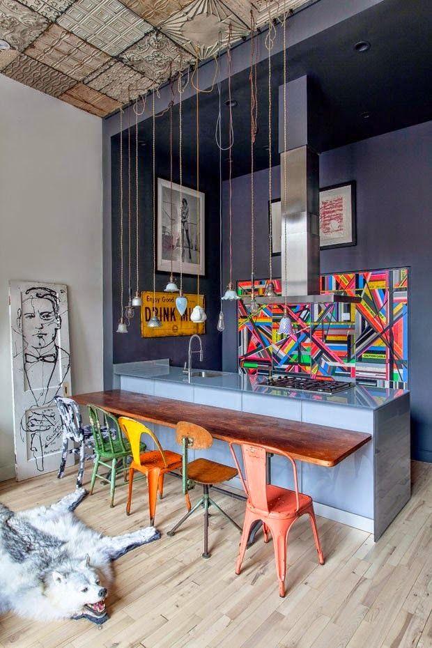 VM designblogg: Industrial Loft στη Νέα Υόρκη