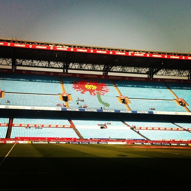 Part of South african Rugby Stadium Tour. Home of the Blue Bulls Rugby Union.