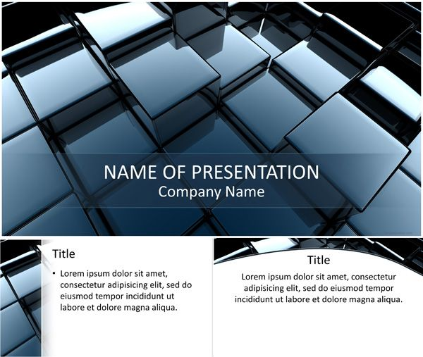 27 best Abstract PowerPoint Templates images on Pinterest - 3d powerpoint template